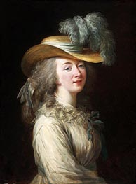 Portrait of Madame Du Barry | Elisabeth-Louise Vigee Le Brun | Painting Reproduction