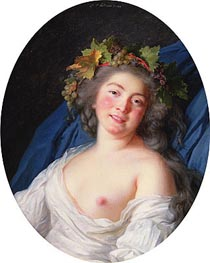 Bacchante | Elisabeth-Louise Vigee Le Brun | Painting Reproduction