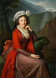 Portrait of Countess Maria Theresia Bucquoi, 1793 by Elisabeth-Louise Vigee Le Brun | Painting Reproduction