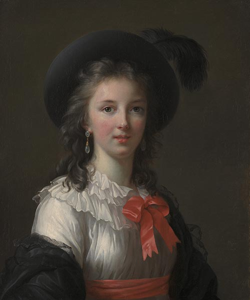 Self-Portrait, c.1781 | Elisabeth-Louise Vigee Le Brun | Painting Reproduction