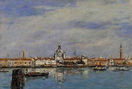 Venice, the Grand Canal | Eugene Boudin | Painting Reproduction
