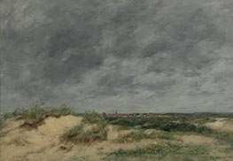 The Berck Dunes | Eugene Boudin | Painting Reproduction
