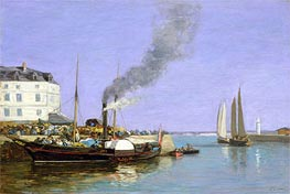 Honfleur, the Jetty | Eugene Boudin | Painting Reproduction