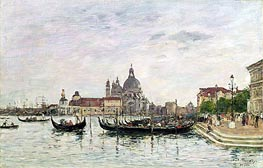 Santa Maria della Salute and the Dogana, Venice | Eugene Boudin | Painting Reproduction