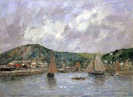 Cherbourg | Eugene Boudin | Painting Reproduction