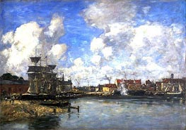 Dunkirk | Eugene Boudin | Painting Reproduction