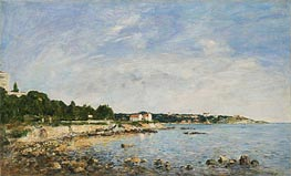 Le Cap, Antibes, 1893 by Eugene Boudin | Painting Reproduction