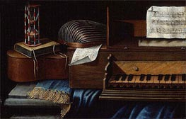 Musical Instruments | Baschenis | Painting Reproduction