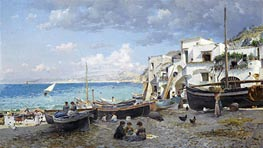 Capri | Federico del Campo | Painting Reproduction