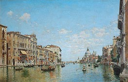 View of the Grand Canal of Venice | Federico del Campo | Painting Reproduction