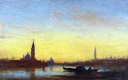 San Giorgio at Sunset | Felix Ziem | Painting Reproduction