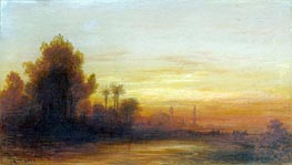 A View of Turkey at Sunset | Felix Ziem | Painting Reproduction