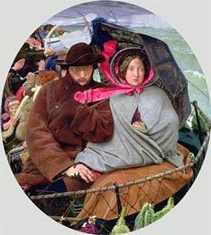 The Last of England, c.1852/55 by Ford Madox Brown | Painting Reproduction