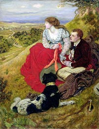 Byron's Dream | Ford Madox Brown | Painting Reproduction