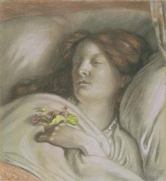 Convalescent (Emma), 1872 by Ford Madox Brown | Painting Reproduction