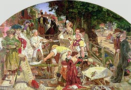 Work, 1863 by Ford Madox Brown | Painting Reproduction