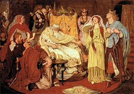 Cordelia's Portion | Ford Madox Brown | Painting Reproduction