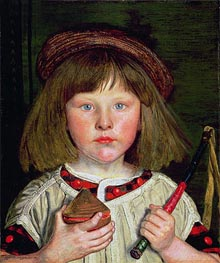 The English Boy | Ford Madox Brown | Gemälde Reproduktion
