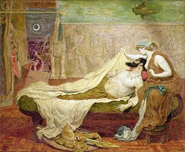 The Dream of Sardanapalus | Ford Madox Brown | Gemälde Reproduktion