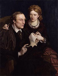 Henry Fawcett, Dame Millicent Garrett Fawcett | Ford Madox Brown | Painting Reproduction