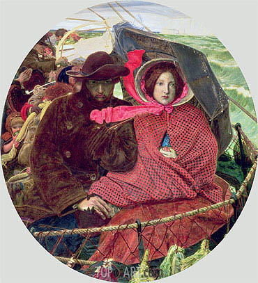 The Last of England, 1860 | Ford Madox Brown | Painting Reproduction