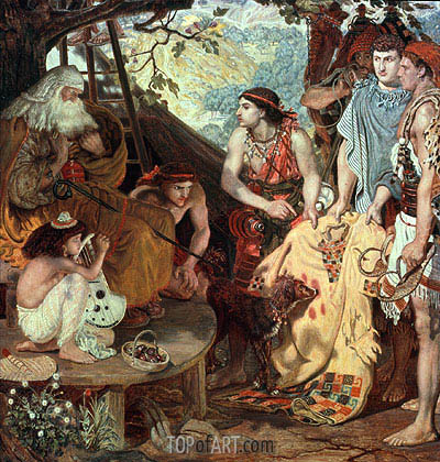 Jacob and Joseph's Coat, 1871 | Ford Madox Brown | Painting Reproduction