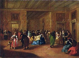 The Foyer, Undated by Francesco Guardi | Painting Reproduction