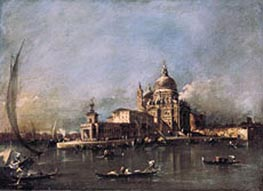 Santa Maria della Salute, c.1780 by Francesco Guardi | Painting Reproduction