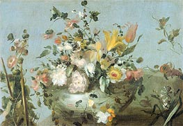 Flowers | Francesco Guardi | Gemälde Reproduktion