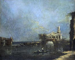 Venice Lagoon | Francesco Guardi | Gemälde Reproduktion