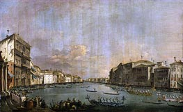 Regatta in Venice | Francesco Guardi | Painting Reproduction