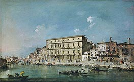 View of Venice | Francesco Guardi | Painting Reproduction