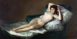 The Nude Maja | Goya | Gemälde Reproduktion