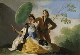 The Parasol, 1777 by Goya | Painting Reproduction