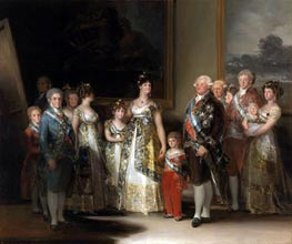 The Family of Carlos IV | Goya | Painting Reproduction
