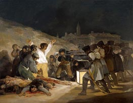 The 3rd of May 1808 in Madrid, 1814 by Goya | Painting Reproduction