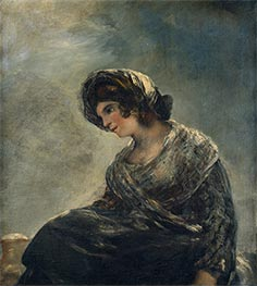 The Milkmaid of Bordeaux | Goya | Painting Reproduction