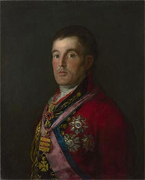 The Duke of Wellington, c.1812/14 von Goya | Gemälde-Reproduktion