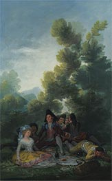 A Picnic | Goya | Painting Reproduction