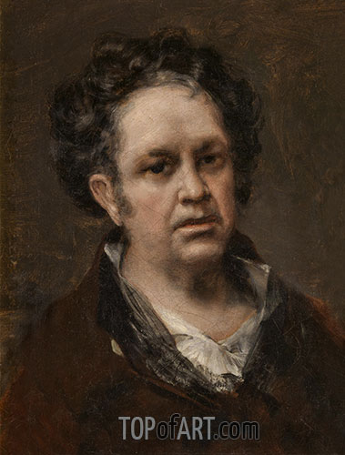 Self-Portrait, 1815 | Goya | Painting Reproduction