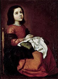 The Childhood of the Virgin | Zurbaran | Gemälde Reproduktion