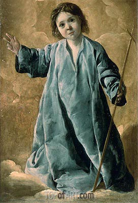 The Infant Christ, c.1635/40 | Zurbaran | Painting Reproduction