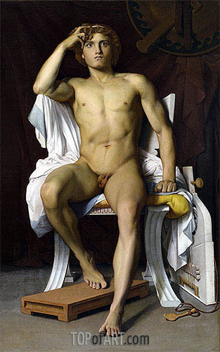 The Wrath of Achilles, 1847 | Benouville | Painting Reproduction