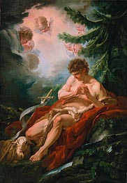 Saint John the Baptist | Boucher | Painting Reproduction