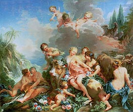 The Rape of Europa | Boucher | Gemälde Reproduktion