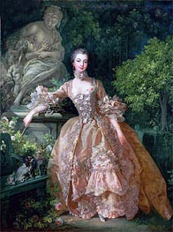 Madame de Pompadour | Boucher | Painting Reproduction