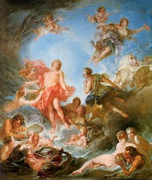 The Rising of the Sun, 1753 by Boucher | Painting Reproduction