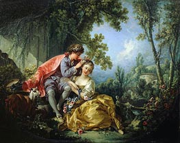 The Four Seasons: Spring | Boucher | Painting Reproduction