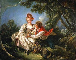 The Four Seasons: Autumn, 1755 by Boucher | Painting Reproduction