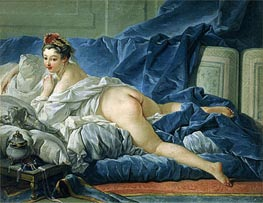 The Odalisque, 1745 by Boucher | Painting Reproduction